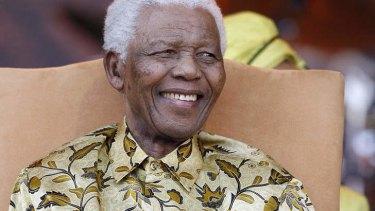 Nelson Mandela: Patient, gracious and grave.