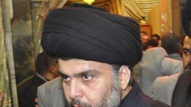 Moqtada al-Sadr ... a pivotal political force in the new Iraq.