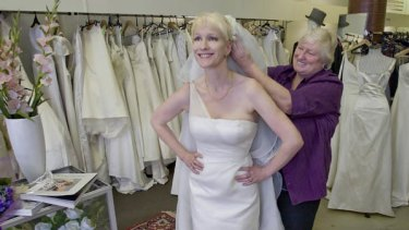 Budget Brides Cut Their Lace To Suit Sackcloth Times