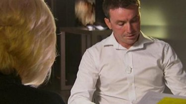 Emotional: James Ashby on 60 Minutes.