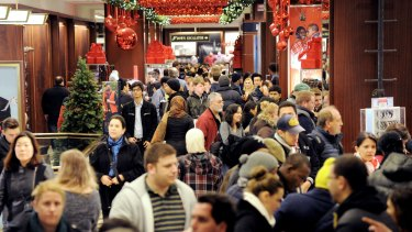 Stores like Macy's in New York brace for large crowds on Black Friday.