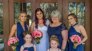 Kyran and her bridal party.