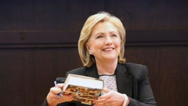 Hillary Clinton's current book tour looks a lot like a rolling campaign launch.
