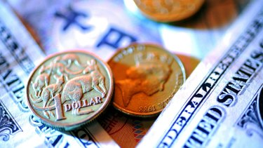 Soft retail figures have put downward pressure on the Australian dollar.