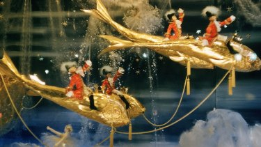 Myer window from 1957: The Nutcracker.