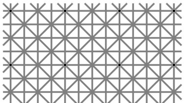 How Many Black Dots Can You See The Internet Puzzle Causing
