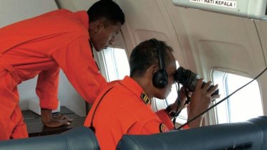 Indonesian Air Force personnel search for MH370 in March: Australian search authories have alerted Indonesia that wreckage may wash up along its shores.