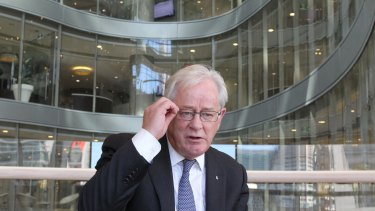 """""""For commercial-in-confidence reasons, I can neither confirm nor deny that I am Andrew Robb, Trade Minister. No further questions."""""""