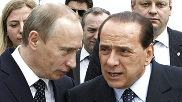 Vladimir Putin (left) and Silvio Berlusconi have a lot in common, according to the latest release of American diplomatic cables.