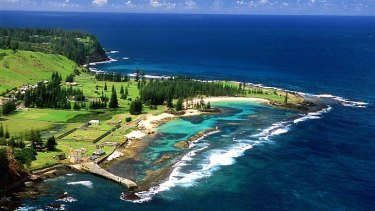 Doing it tough: Norfolk Island has been insolvent for several years.