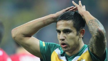 Tim Cahill ... wants to play at the Asian Cup.