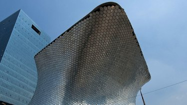 Carlos Slim's new museum in Mexico City.
