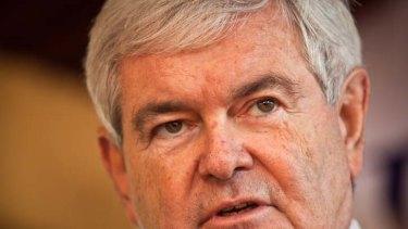 Embarrassing ... Newt Gingrich.