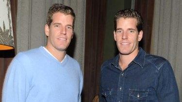 Legal stoush ... Tyler and Cameron Winklevoss say Mark Zuckerberg owes them money.