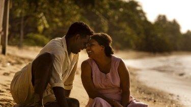 Jimi Bani, as Eddie Mabo, and Deborah Mailman, as his wife Bonita, had never met before the production of <i>Mabo</i>.