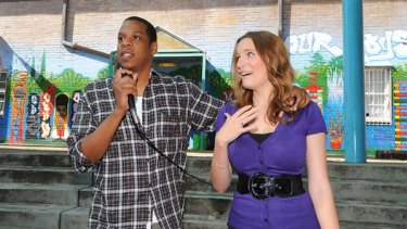 Jay-Z and Polly Dunning.