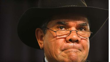 Full support ... 2009 Australian of the Year Mick Dodson backs the proposed constitutional ban on racism.