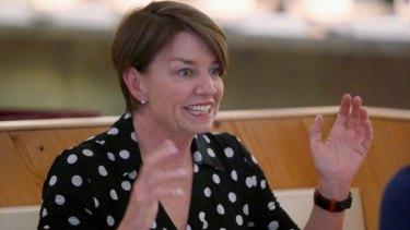 Former Queensland premier Anna Bligh at Supernormal in Melbourne.