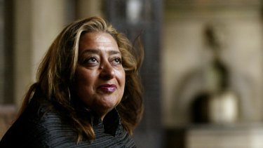 Architect Zaha Hadid, who died this month aged 65.