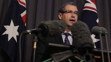 Communications minister Senator Stephen Conroy announces changes to media regulation.