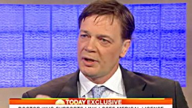 Controversial ... Dr Andrew Wakefield.
