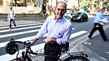 Chris Rissel . . . he found  many motorists do not know basic road rules relating to cyclists.