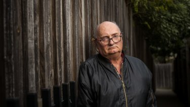 David Montgomery waited nine years before moving into public housing in Ringwood.
