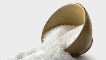 Research has shown that Australians are eating up to double the recommended levels of salt.