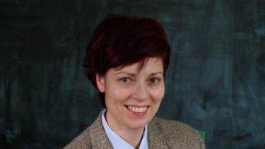 Theatre designer Judith Cobb.