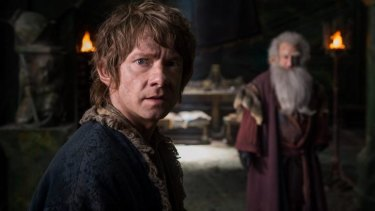 Jamie Oliver says he's sad not to have been able to join <i>The Hobbit</i> series.