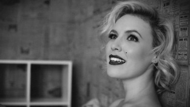 Carina Waye has the starring role in Citizen Theatre's <i>NUDE – Beneath the Beauty Spot</i>,  a tribute to the life of Marilyn Monroe