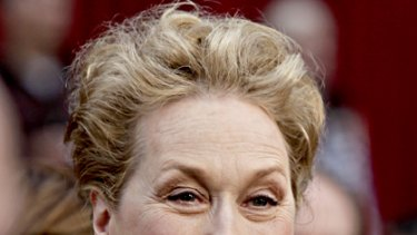 Ageless appeal ... Meryl Streep is amazed by the longevity of her film career.