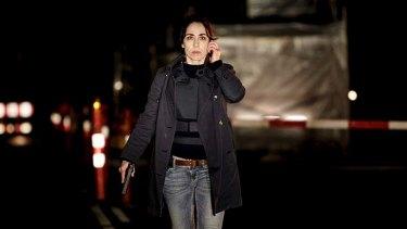 Slow burn: Sofie Grabol in <i>The Killing</i>.