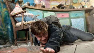 The ultimate wish fulfilment and the ultimate nightmare ... Daniel Radcliffe in Harry Potter and the Deathly Hallows.