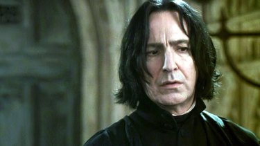"""""""The course of my fictional war was forever changed when Snape chose to abandon the course on which he was set, and Dumbledore helped him do it."""": Rowling"""