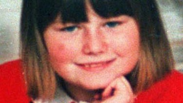 A police handout of 10-year-old Natascha Kampusch who vanished in 1998.