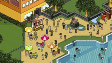 Social networking site Habbo.