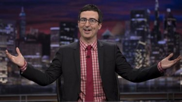 Whoopi Goldberg won't let up in her defence of Bill Cosby, and John Oliver is calling her out.