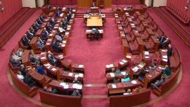 The senate votes on the bill on Thursday night.