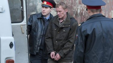 Aleksey Serebryakov plays a man fighting Russian corruption in <i>Leviathan</i>.