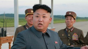 Not seen since September 3: Kim Jong-un.