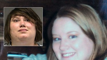 Korena Elaine Roberts, inset, is accused of killing Heather Snively.