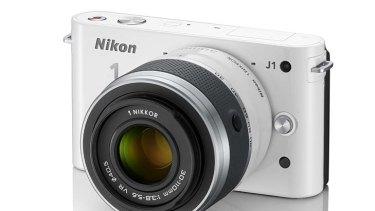 The Nikon J1 interchangeable lens.
