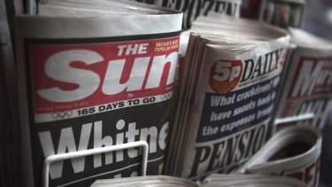 The Sun ... facing allegations it paid for tip offs.