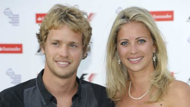 Branson's offspring Sam and Holly in 2010.
