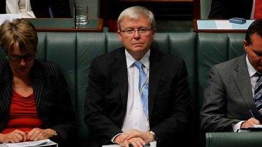 "Kevin Rudd said the BBC should ""get an Australian sense of humour""."