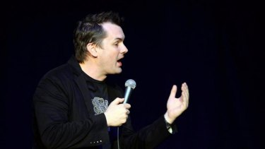 In your face: US-based Australian comedian Jim Jefferies.