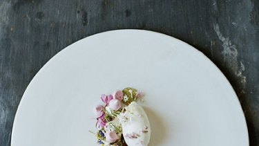 Another creation by Rene Redzepi.