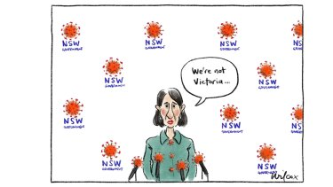 The Age editorial cartoon for 24 6 21 by CathyWilcox