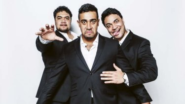The power of the Lorde is behind pop-opera trio Sole Mio: Pene Pati, Moses Mackay and Amitai Pati.
